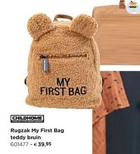 Rugzak my first bag teddy bruin-Childhome