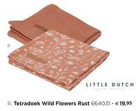 Tetradoek wild flowers rust-Little Dutch