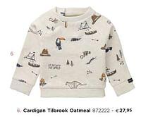 Cardigan tilbrook oatmeal-Huismerk - Dreambaby