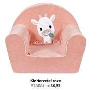Kinderzetel roze-Dreambee