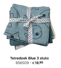 Tetradoek blue-Done by Deer