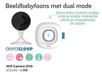 Aerosleep wifi camera oyo-Aerosleep