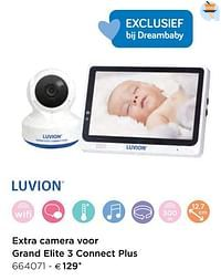 Luvion extra camera voor grand elite 3 connect plus-Luvion