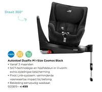 Autostoel dualfix m i-size cosmos black-Britax