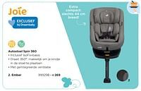 Autostoel spin 360 ember-Joie