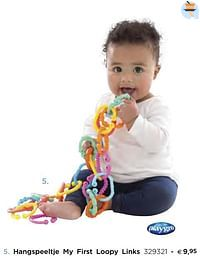 Hangspeeltje my first loopy links-Playgro