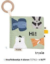 Knuffelboekje 4 dieren-Huismerk - Dreambaby