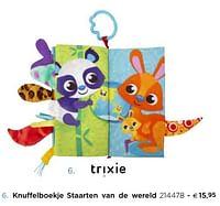 Knuffelboekje staarten van de wereld-Trixie