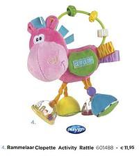 Rammelaar clopette activity rattle-Playgro
