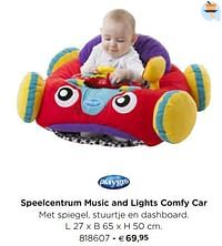 Speelcentrum music and lights comfy car-Playgro