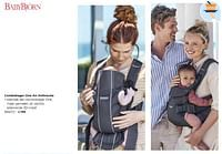 Combidrager one air anthracite-BabyBjorn