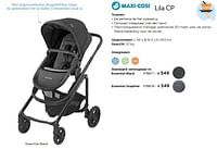 Lila cp essential black-Maxi-cosi