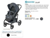Lila xp essential graphite-Maxi-cosi