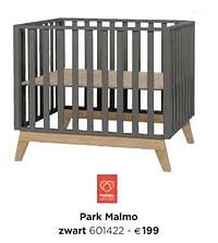 Park malmo zwart-Pericles