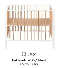Park nordic white-naturel-Quax