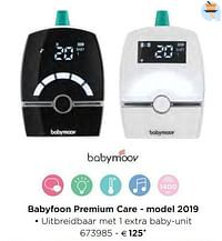 Babymoov babyfoon premium care - model 2019-BabyMoov