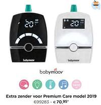 Babymoov extra zender voor premium care model 2019-BabyMoov