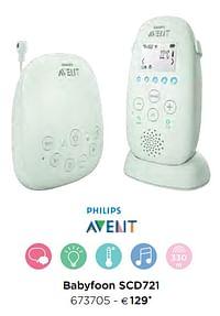 Philips babyfoon scd721-Philips