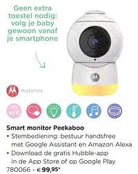 Motorola smart monitor peekaboo-Motorola