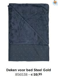 Deken voor bed steel gold-Pericles