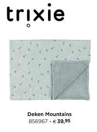 Deken mountains-Trixie