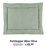 Parklegger bliss olive-Trixie