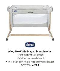 Wieg next2me magic scandinavian-Chicco