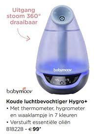 Koude luchtbevochtiger hygro+-BabyMoov