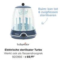 Babymoov elektrische sterilisator turbo-BabyMoov