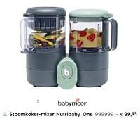 BabyMoov Stoomkoker-mixer nutribaby one-BabyMoov