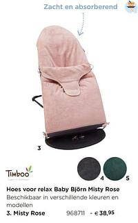 Hoes voor relax baby björn misty rose misty rose-Timboo