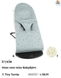 Hoes voor relax babybjörn tiny turnip-Trixie