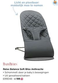 Relax balance soft bliss anthracite-BabyBjorn