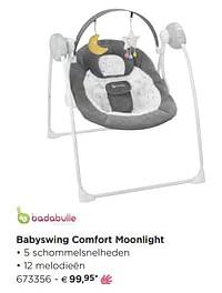 Babyswing comfort moonlight-Badabulle