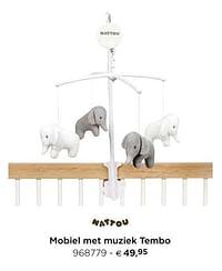 Mobiel met muziek tembo-Nattou