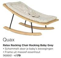 Relax rocking chair rocking baby grey-Quax