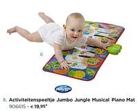 Activiteitenspeeltje jumbo jungle musical piano mat-Playgro