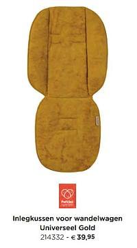 Inlegkussen voor wandelwagen universeel gold-Pericles