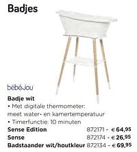 Badje wit sense edition-Bebe-jou