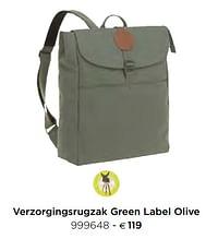 Verzorgingsrugzak green label olive-Huismerk - Dreambaby