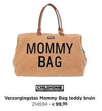 Verzorgingstas mommy bag teddy bruin-Childhome