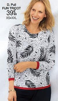 Pull fijn tricot-Huismerk - Damart