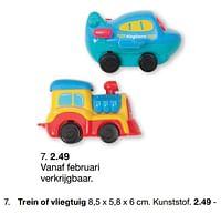 Trein of vliegtuig-Huismerk - Zeeman