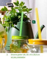 Groene gieter-Huismerk - Ava