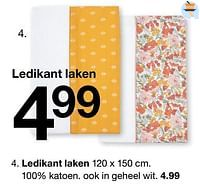 Ledikant laken-Huismerk - Zeeman