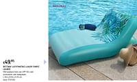 Bestway luchtmatras luxury fabric lounge-BestWay