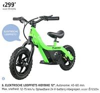Elektrische loopfiets kidybike 12-KidyBike