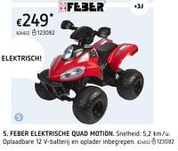 Feber elektrische quad motion-Feber