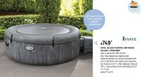 Intex jacuzzi purespa greywood deluxe 4 personen-Intex