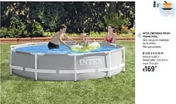 Intex zwembad prism frame pool